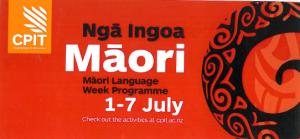 nga ingoa maori