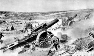 British 39th Siege Battery RGA Somme 1916, IWM