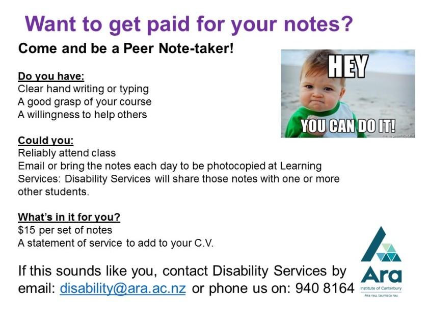 Peer Note-taker Ara