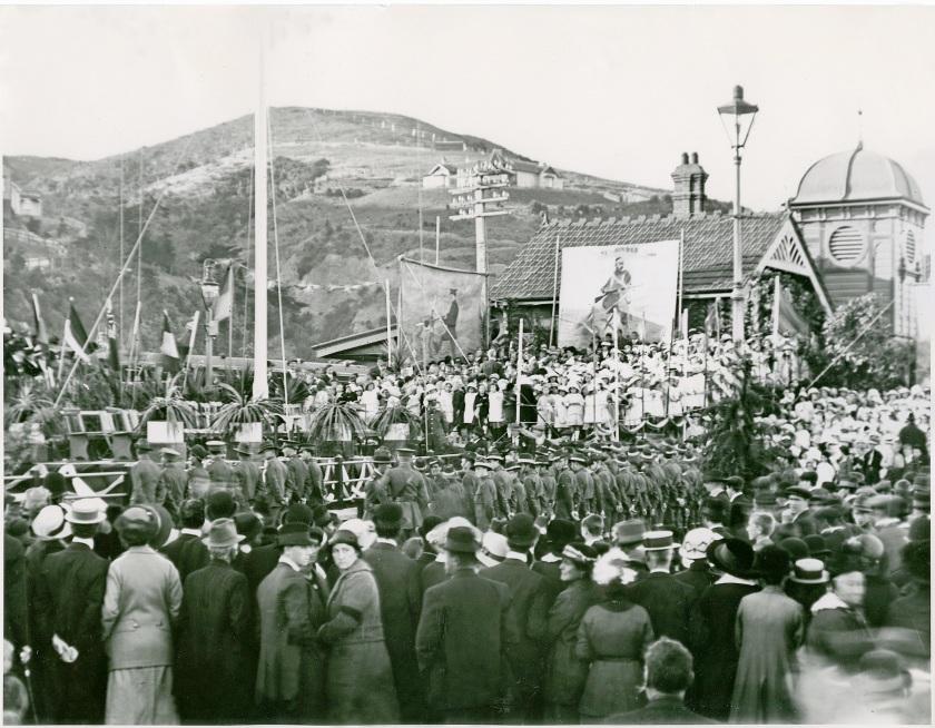 Anzac Day 1916, Petone